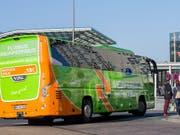 Flixbus will ab Mai auch in den USA ein Busnetz aufbauen. (Bild: KEYSTONE/AP dpa/ROLF VENNENBERND)