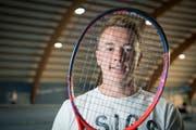 2019 möchte sich der 23-jährige Niederwiler die Qualifikation der Australian Open spielen. (Bild: Ralph Ribi)