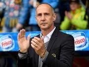 Adi Hütter verlässt die Berner Young Boys in Richtung Bundesliga (Bild: KEYSTONE/EPA KEYSTONE/ANTHONY ANEX)
