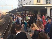 Bei Zugverspätungen brauchen Pendler Geduld. (Bild: PD)