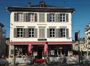 Das «Seeger» an der Ecke Oberer Graben und Bahnhofstrasse. (Bild: Reto Voneschen)