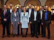 Der Zürcher Stadtrat hat die Departemente neu verteilt. (Bild: KEYSTONE/PATRICK HUERLIMANN)