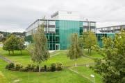 Das Zuger Kantonsspital in Baar. Bild: Patrick Hürlimann (13. September 2017)