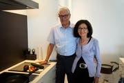 An der Seite des Gastroexperten und Autors Herbert Huber stand schon immer und steht auch heute seine Frau Gertrude. (Bild: Romano Cuonz (Stansstad, 14. Mai 2018))