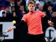 David Goffin verzichtet auf einen Start am ATP-Turnier in Genf (Bild: KEYSTONE/AP ANSA/CLAUDIO ONORATI)