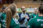 Brühls Trainer Werner Bösch weiss, wie sein Team den Final gewinnen kann: «Es gilt, die Topleistung abzurufen.» (Bild: Urs Bucher)