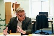 Alfred Stricker wurde 2015 in die Regierung gewählt. Er setzte sich damals unter anderem gegen Monica Sittaro durch. (Bild: CAL)