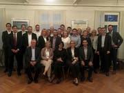 Die Kandidatinnen und Kandidaten der FDP Stadt Zug.