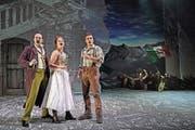 Szene aus dem Musical «Matterhorn», einer Eigenproduktion des Theaters St.Gallen. (Bild: Andreas J. Etter)