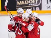 Mit einer disziplinierten Leistung wollen die Schweizer gegen Finnland bestehen und den Viertelfinal überstehen (Bild: KEYSTONE/AP Ritzau Scanpix/MADS CLAUS RASMUSSEN)