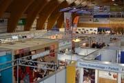 Auch 2019 wird die Markthalle Toggenburg wieder zur Messehalle. (Bild: Beat Lanzendorfer)