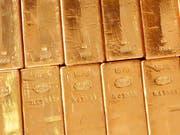 Mit insgesamt 20 Goldbarren im Enddarm wurden zwei Schmuggler auf Sri Lanka erwischt. (Bild: KEYSTONE/MARTIN RUETSCHI)