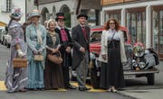 Immer mehr Teilnehmer am OiO kleiden sich – wie diese Belle Epoque-Gruppe 2017 – entsprechend der Zeit ihrer Fahrzeuge. (Bild: PD)