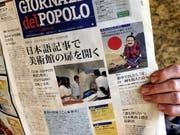 """Die Tessiner Tageszeitung """"Giornale del Popolo"""" stellt ihr Erscheinen ein. (Bild: KEYSTONE/KARL MATHIS)"""