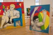 Simon Bachmann zeigt im Projektraum Nextex seine erste Einzelausstellung.
