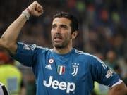 Gianluigi Buffon macht bei Juventus Turin zum Ende dieser Saison Schluss (Bild: KEYSTONE/EPA ANSA/RICCARDO ANTIMIANI)