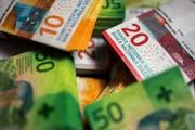 Die Bundesanwaltschaft ermittelt wegen Geldwäscherei (Symbolbild). Bild: Gabriele Putzu / Keystone (Novazzano, 7. November 2017)