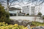 In der Konzernzentrale der Arbonia in Arbon wird an der strategischen Vergrösserung des Unternehmens gearbeitet. (Bild: Hanspeter Schiess)