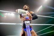 Und alle Wrestler sind so stark wie euphorisch.Bild: WWE