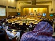 Treffen der Arabischen Liga in Kairo, an welchem vor Botschaftseröffnungen in Jerusalem gewarnt wurde. (Bild: KEYSTONE/AP/AMR NABIL)