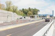 Auf der Autobahn zwischen Rheineck und St.Margrethen kann es eng werden. (Bild: Bundesamt für Strassen Astra)