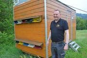 Bienenzüchter Emil Breitenmoser aus Appenzell. Bild: KER