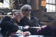 Schöner ist Deadpool (Ryan Reynolds, links) ohne Maske nicht geworden.