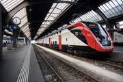 """Ab Dezember sind die neuen Doppelstockzüge """"FV-Dosto"""" auch in der Ostschweiz unterwegs. (KEYSTONE/Ennio Leanza)"""