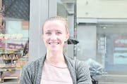 Sarah Auf der Maur (24), Studentin, Niederurnen.