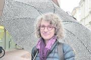 Angie Hauer (55), Künstlerin, St.Gallen.