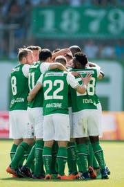 Auf und neben dem Platz soll der FC St.Gallein eine Einheit sein. (Bild: Urs Bucher)