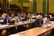 Das Stadtparlament debattierte am Donnerstag über die Rechnung 2017 der Stadt. (Bild: PD)