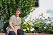 Ursula Schweizer möchte sich in der Gemeinde Gams aktiv einbringen. (Bild: Alexandra Gächter)