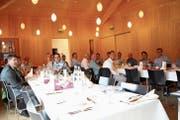 Die Toggenburger Arbeitgeber trafen sich im Ackerhus zu ihrer Hauptversammlung. (Bild: Martin Knoepfel)