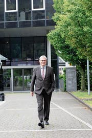 OK-Präsident Urban Camenzind freut sich auf die Begegnungen an der Uri 18. (Bild: Florian Arnold, 17. Mai 2018)