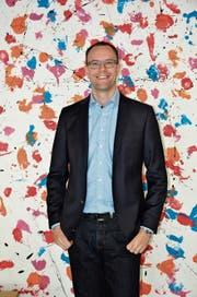 Matthias Wettstein sieht die Zukunft der Schule Gams positiv. (Bild: Alexandra Gächter)