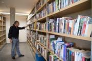 Diese Bücher haben die Sprecherinnen und Sprecher in Landschlacht als Hörbücher eingelesen. Bild: Ralph Ribi