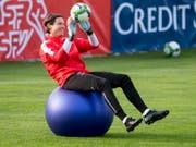 Keine Lust mehr auf die Schweizer Nati: der Goalie Nummer 3 Marwin Hitz (Bild: KEYSTONE/URS FLUEELER)
