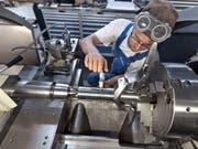 Die gute Konjunktur in wichtigen Absatzmärkten beschert der Schweizer MEM-Industrie im ersten Quartal ein deutliches Umsatzwachstum. (Bild: KEYSTONE/GAETAN BALLY)