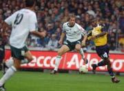 Jan Berger absolvierte 55 Spiele für den FC St.Gallen – so viele wie für keinen anderen Verein auf seiner langen Reise. (Bild: Michel Canonica)