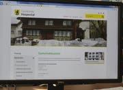 Hospental hat die Homepage erneuert. (Bild: Markus Zwyssig, Altdorf, 19. Mai 2018)