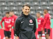 Gelingt ihm der Coup gegen seinen Vorgänger? Eintracht-Coach Niko Kovac wechselt nach dem Cupfinal zu Gegner Bayern (Bild: KEYSTONE/EPA/ARMANDO BABANI)