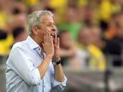 Ziel nicht erreicht: Lucien Favre verpasst mit Nice die Qualifikation für die Europa League (Bild: KEYSTONE/AP dpa/MAJA HITIJ)
