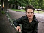 """Die Schriftstellerin Melinda Nadj Abonji erhält für """"Schildkrötensoldat"""" den Schillerpreis der Zürcher Kantonalbank. (Bild: Keystone/GAETAN BALLY)"""