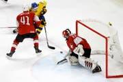 Schweiz verliert Final nach Penaltyschiessen und verpasst WM-Gold (Bild: Keystone)