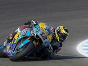 Tom Lüthi fährt im Grand Prix von Frankreich in den 16. Rang (Bild: KEYSTONE/EPA EFE/ROMAN RIOS)