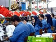 Die iranische Regierung fordert von der EU respektive europäischen Unternehmen mehr Investitionen im Land. (Bild: KEYSTONE/EPA/ABEDIN TAHERKENAREH)