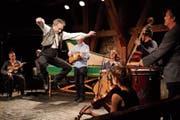 Die Barokksolistene feiern mit «Purcell's Playground» ein wildes Fest im Schloss. (Bild: Anja Köhler)