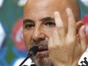 Jorge Sampaoli gibt in Buenos Aires sein WM-Kader bekannt (Bild: KEYSTONE/EPA EFE/DAVID FERNANDEZ)