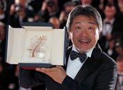 Regisseur Hirokazu Kore-eda gewinnt die die Goldene Palme für «Shoplifters».